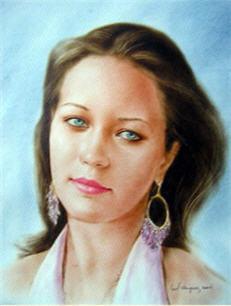 Портреты с натуры портрет на заказ