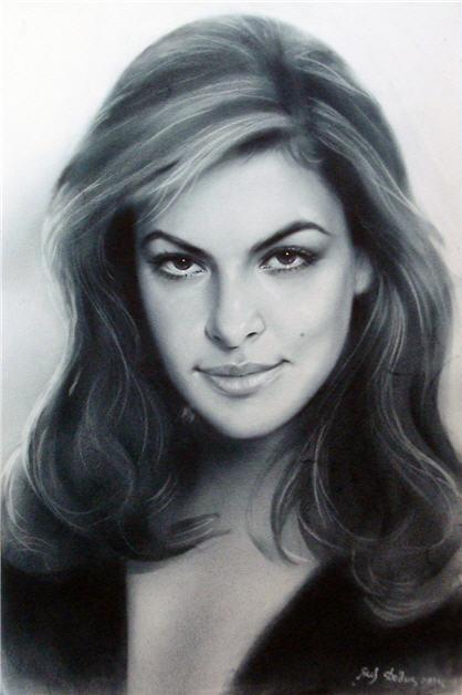 рисунок портрет: